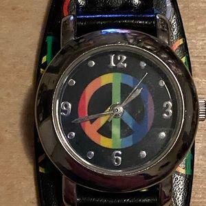 Peace Rainbow Watch